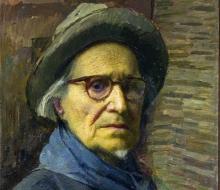 Carlo Fornara, Autoritratto