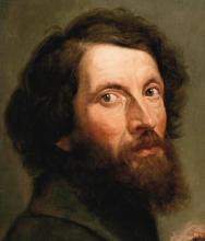 Giovanni Carnovali (detto il Piccio), Autoritratto [dettaglio]
