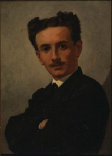 Odoardo Borrani, Ritratto di Adriano Cecioni