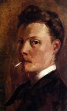 Henri-Edmond Cross, Autoritratto con sigaretta
