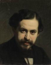 Vito D'Ancona, Autoritratto | Self portrait