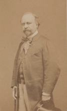 Etienne Carjat, Giuseppe Palizzi, 1865 circa