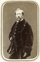 Félix Ziem, foto di autore anonimo, 1865 circa, Paris, Bibliothèque nationale de France