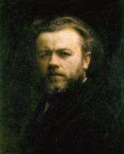 Henri Fantin-Latour, Autoritratto, 1883