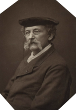 Ferdinand Mulnier, Ritratto di Théodule Augustin Ribot, pittore francese, 1880 circa -  1891 o prima, fotografia, Rijkmuseum, Amsterdam