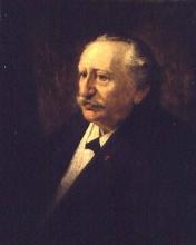 Floris Arntzenius, Ritratto di Willem Maris, 1903