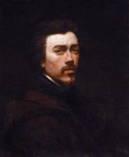 François Bonvin, Autoritratto [1847]