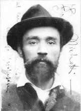 Francesco Paolo Michetti, foto, 1890-1910, Museo Civico, Vasto (CH)