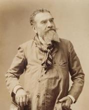 Francesco Saverio Altamura in una foto conservata nel Museo Civico di Foggia