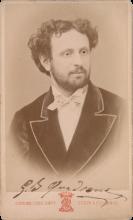Giovanni Battista Quadrone, foto Schemboche, anni 1860, cm. 10.2 x 6.3, Metropolitan Museum, New York, inv. n. 1970.659.661