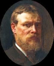Lawrence Alma-Tadema, Autoritratto