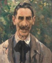 Lodovico Tommasi, Autoritratto, 1927