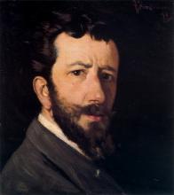 Federico Zandomeneghi, Autoritratto, 1877-1878