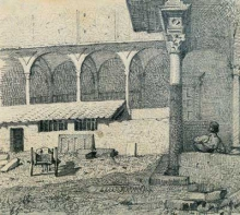 Abbati, Il chiostro di Santa Croce | The cloister of Santa Croce