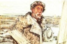 Acke, Autoritratto   Självporträtt   Self-portrait, 1918