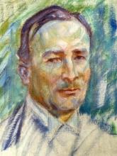 Acke, Ritratto di Erik Axel Karlfeldt   Portrait of Erik Axel Karlfeldt