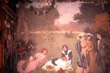 Edmond Aman-Jean, Colazione sull'erba | Déjeuner sur l'herbe | Lunch on the grass, 1910, Musée des Arts Décoratifs, Paris, France
