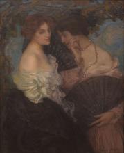 Edmond Aman-Jean, Confidenze | Confidences, Muzeul Naţional de Artă al României, Bucureşti, România