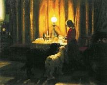 Anna Ancher, I cani devono essere nutriti (Hundene fodres), 1894