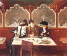 Jean Béraud, Al caffè | Au café