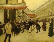 Jean Béraud, Il Café de la Paix | Le café de la Paix