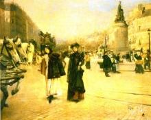 Jean Béraud, La Place Clichy