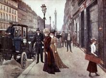 Jean Béraud, La settimana di Pasqua, rue de la Paix a Parigi | La semaine de Pâques, rue de la Paix, à Paris