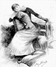 Jean Béraud, La sigaretta | La cigarette, 1884