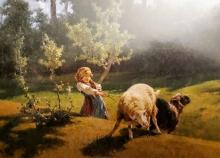 Stefano Bruzzi, I due ribelli, XIX secolo, Dipinto, Olio su tela