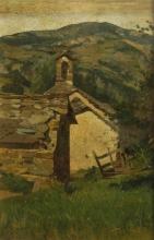 Stefano Bruzzi, Oratorio di Roncolo, XIX secolo, Dipinto