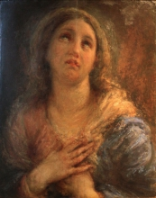Giovanni Carnovali, Madonna, 1873, Museo Civico Ala Ponzone, Cremona, Italia