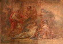Giovanni Carnovali (detto il Piccio), Morte di Virginia Romana, Museo Civico Ala Ponzone, Cremona, Italia
