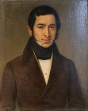 Giovanni Carnovali (detto il Piccio), Ritratto del conte Carlo Cadolini, Museo Civico Ala Ponzone, Cremona, Italia
