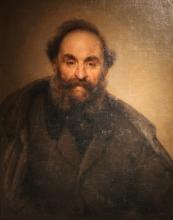 Giovanni Carnovali (detto il Piccio), Ritratto del signor Lucassetti, Museo Civico Ala Ponzone, Cremona, Italia