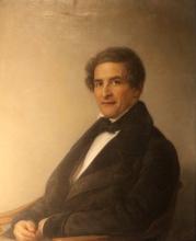Giovanni Carnovali (detto il Piccio), Ritratto dell'avvocato Antonio Carloni, Museo Civico Ala Ponzone, Cremona, Italia