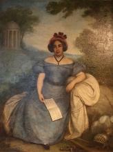 Giovanni Carnovali (detto il Piccio), Ritratto della cantante Rosa Mariani, Museo Civico Ala Ponzone, Cremona, Italia