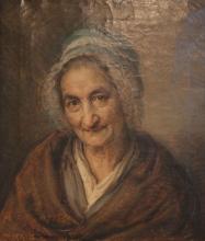 Giovanni Carnovali (detto il Piccio), Ritratto della signora Guelfi, Museo Civico Ala Ponzone, Cremona, Italia