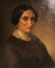 Giovanni Carnovali (detto il Piccio), Ritratto di signora, Museo Civico Ala Ponzone, Cremona, Italia