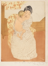 Cassatt, Maternal caress.jpg