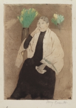 Cassatt, Portrait of the artist's mother.jpg