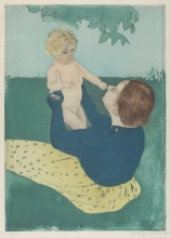 Cassatt, Under the horse-chestnut tree.jpg