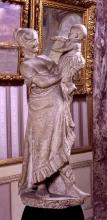Adriano Cecioni, La madre, XIX secolo, 1878-1879, gesso, cm. 105,5  di altezza, Firenze, Palazzo Pitti, Galleria d'Arte Moderna, Codice ICCD 09 00342192