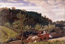Giovanni (Nino) Costa, Campagna senese, 1867