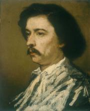 Thomas Couture, Autoritratto   Autoportrait