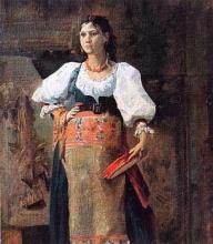 D'Ancona, Figura di contadina in costume.jpg