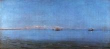 Giuseppe De Nittis, Bonaccia al largo di Brindisi, seconda metà del XIX secolo