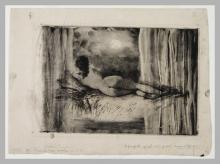 Giuseppe De Nittis, Fantasie lunari, XIX secolo, Stampa