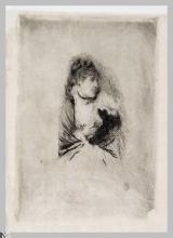 Giuseppe De Nittis, Freddolosa | Frileuse, seconda metà del XIX secolo, Stampa