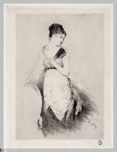 Giuseppe De Nittis, Gabrielle, XIX secolo, Stampa