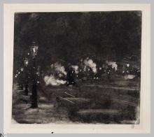 Giuseppe De Nittis, La Gare de l'Ouest, seconda metà del XIX secolo, Stampa